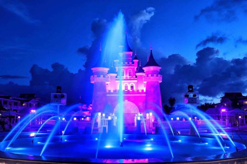 fantasia bahia principe punta cana_castle